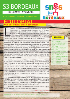 Bulletin académique n° 208